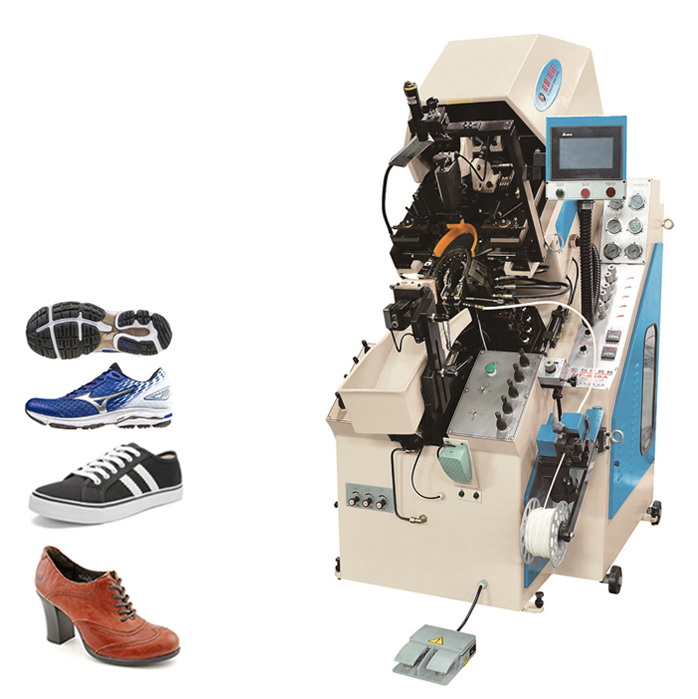 9 Pincer Computerized Hot Melt Shoes Toe Lasting Machine Price