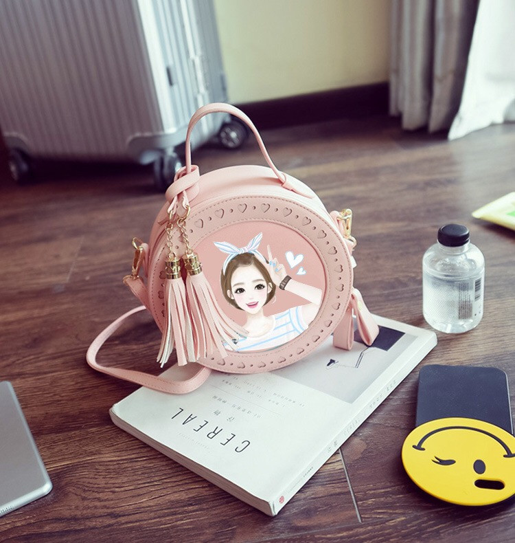 bags women handbags lady children bags round purse female kids handbags  ladies bags in china girls lovely print