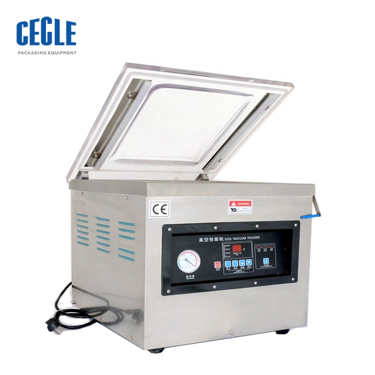price for automatic dz260 vacuum packing machine stand up pouch packing machine vacuum sealed plastic bag for meat