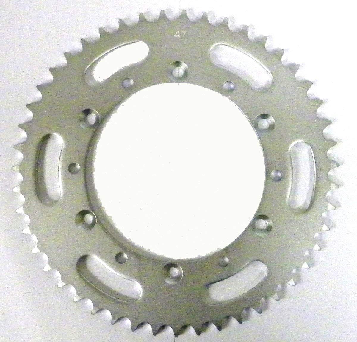 Kawasaki Steel Rear Sprocket Moto-X KX 125 1985-2005/ KDX 200 1985-2006/ KDX 220 1997-2005/ KDX 250 1991-1994 47 Teeth RSK-014-47