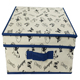 colorful fabric covered decorative cardboard storage boxes with lids