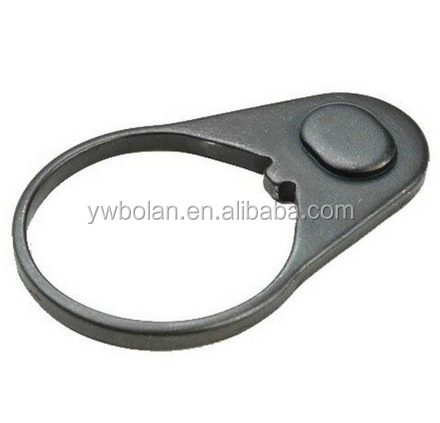 Sling Swivel AR15 Receiver End Plate Extension For Buffer Tube Kit, Black