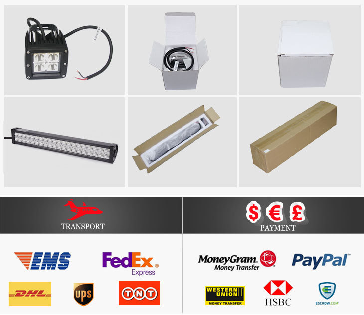 "7inch Headlight Square Truck LED High Beam 10-30V 45W H6054 H5054 H6054LL 69822 6052 6053 With 5"" x 7"" Rectangular Headlight"