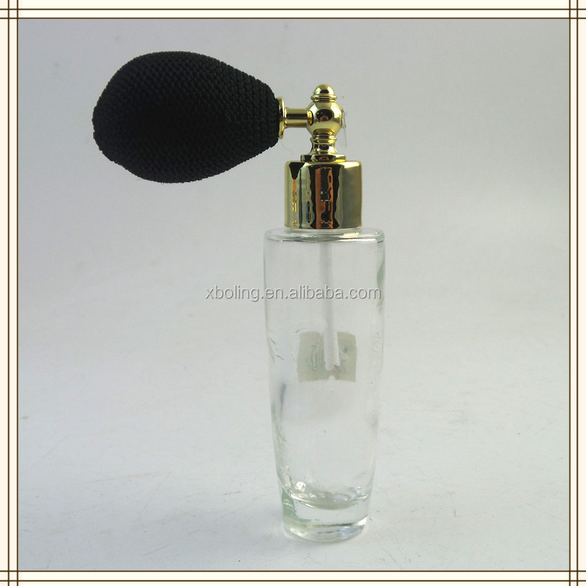 35ml pumped glass perfume bottle parts