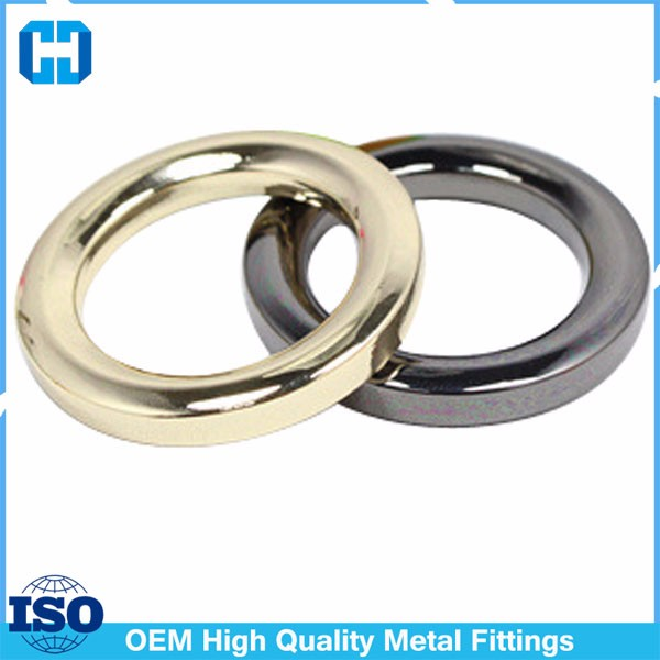 Purse Hardware Zinc Alloy Loop Buckle,3.5mm Thick O Ring
