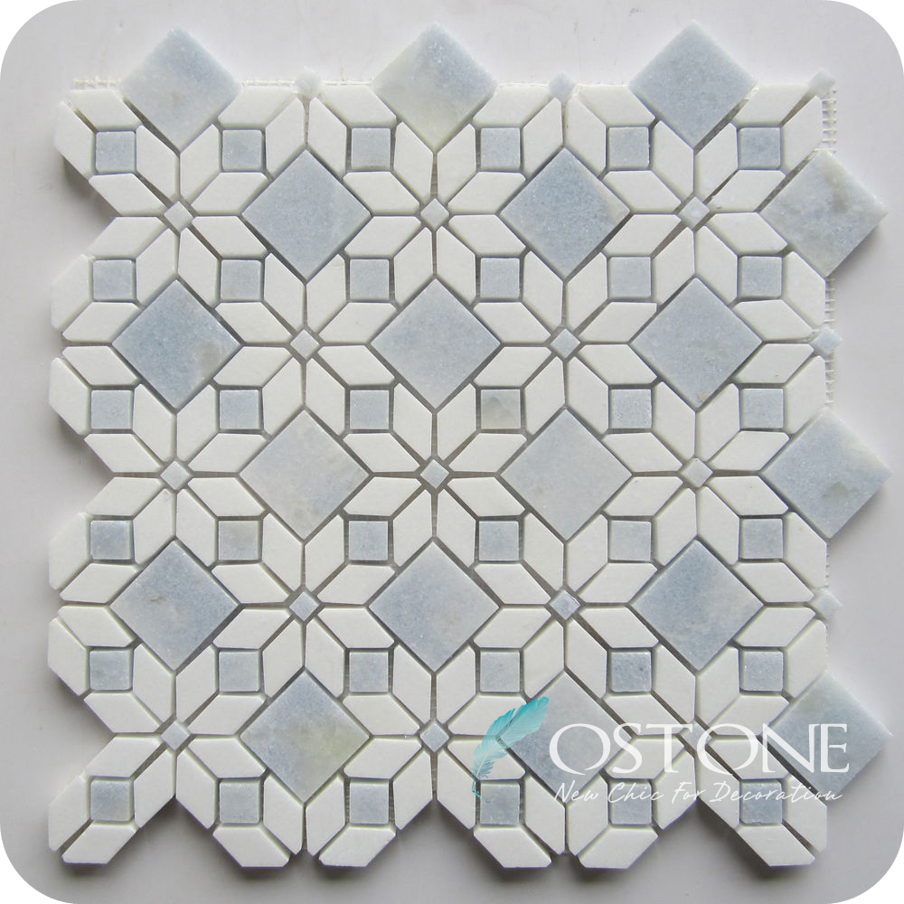 Flower marble mosaic tile wholesale mosaic tile suppliers alibaba dailygadgetfo Gallery