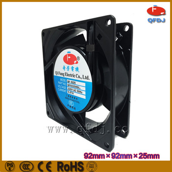 9225 3 Zoll Ac Lüfter, 80mm Badezimmer Abluftventilator, 24 Volt Dc Lüfter,  Verwendet