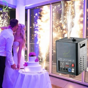 Indoor Cold Fireworks Machine of Wedding Fireworks with Remote Control Pyrotechnic Flameless Effect for Wedding