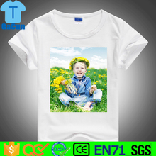 custom 100% polyester cheap t shirt 3d sublimation t-shirt for printing