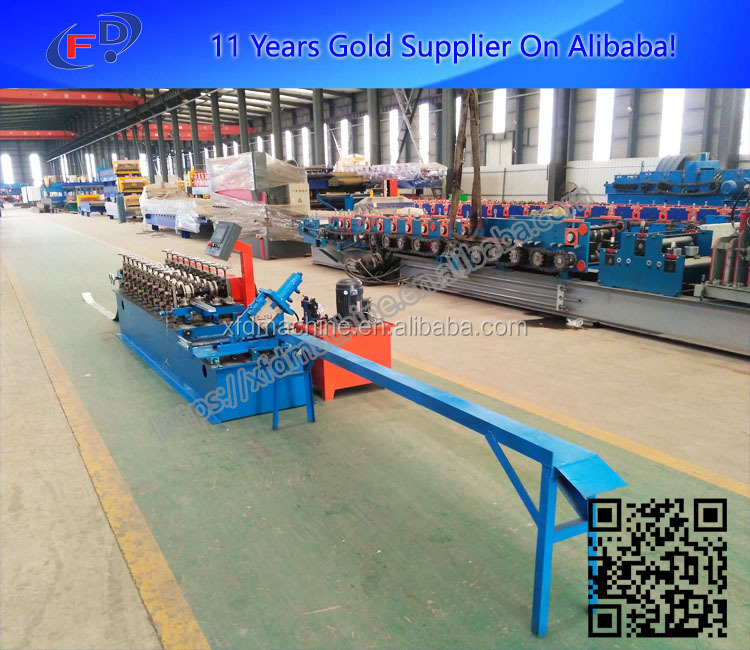 metal stud and track roll forming machine for dry wall and exterior wall