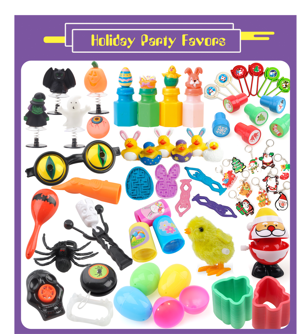 12 VALENTINE/'S DAY Party Favors Toys Prizes MINI HEART SHAPED MAGIC SPRINGS
