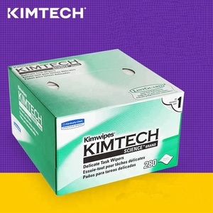 Kimtech Fiber Optic Kimwipes/Cleaning Wipes