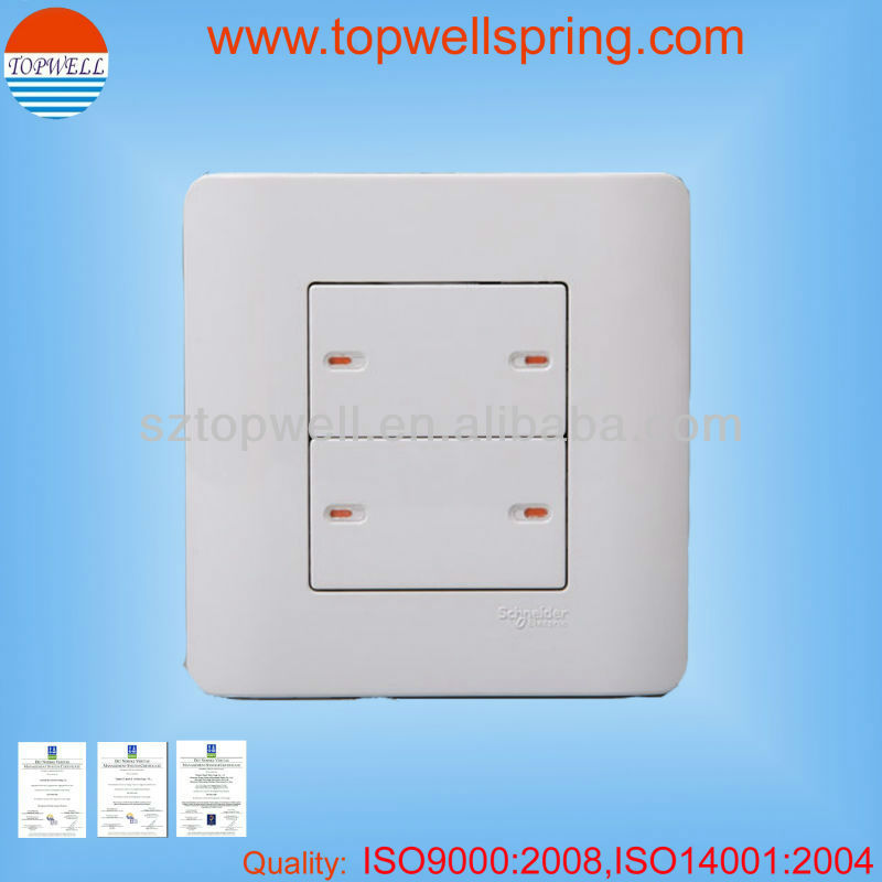 plastic manufacturing companies for touch wall light switch parts