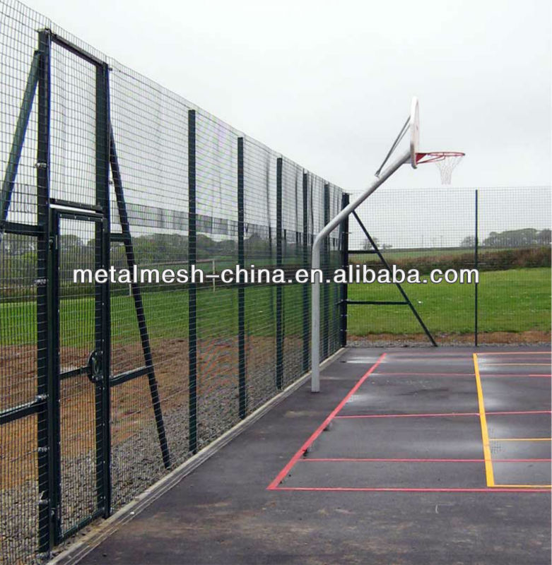 High Security Fence/Prison Fene/Powder coated mesh fening