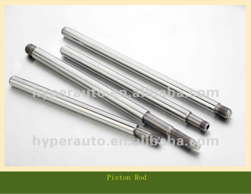 chrome plated piston rod for shock absorber