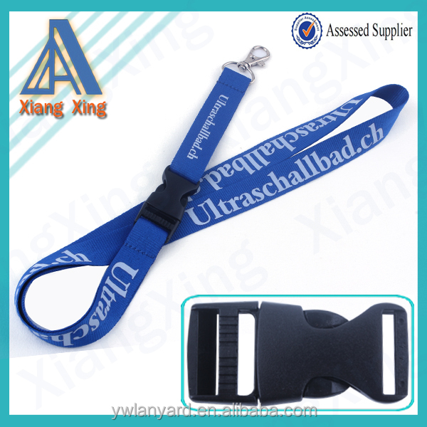 Hot selling printed alcohol lanyards with no minimum order