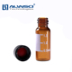2ml glass vial with Natural rubber PTFE septa methanol hplc grade