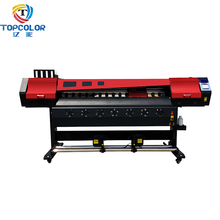 Fotokopieertoestellen in china DX5 DX7 XP600 hoofd TC-1680V kleur poster afdrukken machine pvc sticker printer