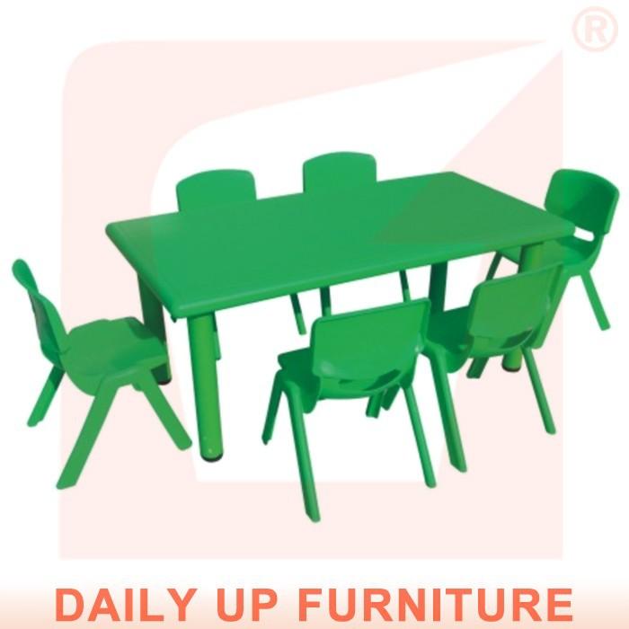 120 60cm Preschool Kids Desk Height Adjule Nursery School Kindergarten Furniture Plastic Children Study And Chair Toys
