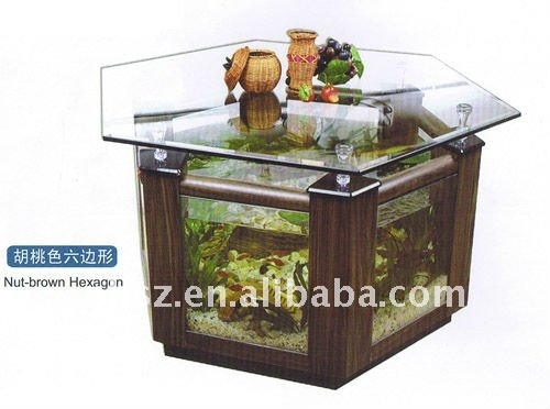 Fish Aquarium Office Table, Fish Aquarium Office Table Suppliers And  Manufacturers At Alibaba.com