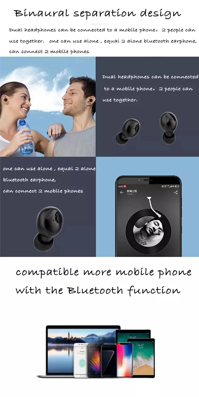 Hot Sale Wireless 5.0 Update TWS Headphone Mini Stereo  Earbuds XI9 tws earbuds