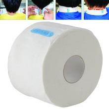 Profissional elástico pescoço descartável de papel rolo de cabeleireiro ferramentas de estilo de cabelo