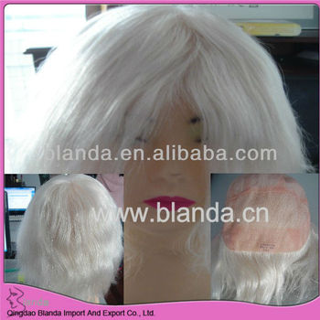 AAAA Level Human Hair No Shedding Hand Tied Lace full Wig