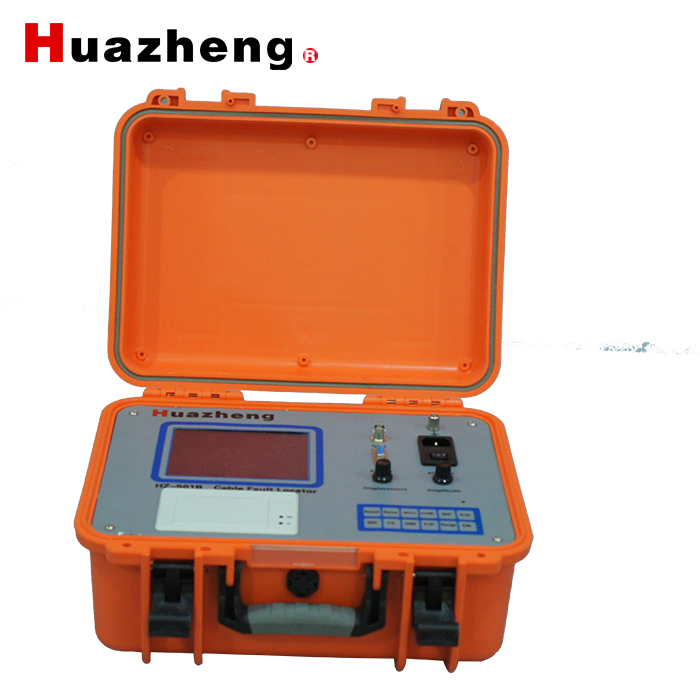 TDR portable high voltage pin-point underground cable fault locator with bridge function