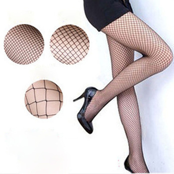 7f1fb59ee39 Lady Women Sexy Pantyhose Mesh Fishnet Nylon Tights Long Stocking Jacquard  Step Foot Seam Pantyhose High