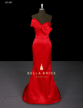 a14a4b8d0 Hermosa Vestidos Largos Rojo Vestidos De Quinceañera Vestido Largo ...