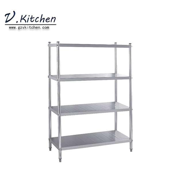 201 Stainless Steel optional 304ss restaurant commercial Storage <strong>Rack</strong> With Thickness 1.2mm Shelving