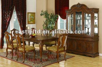 Antique Formal Wooden Dining Room Sets
