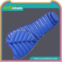 Traveler sleeping bag H0Tun duck feather mummy sleeping bag