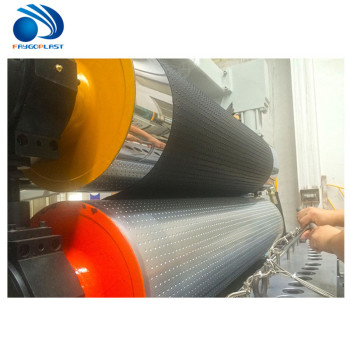 High speed high capacity pvc flex polyester fiber banner sheet making machine