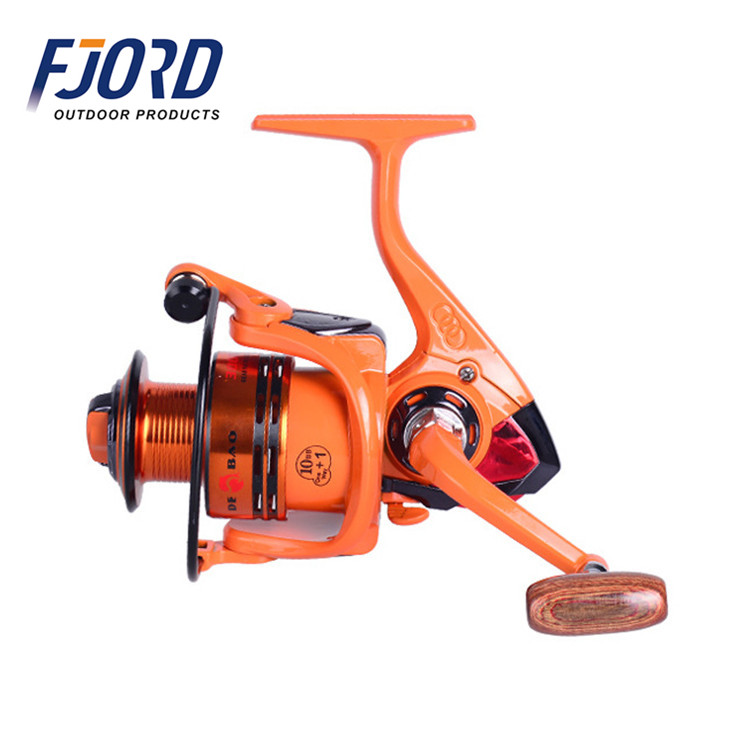 FJORD In stock orange color saltwater spinning great low price gapless fishing reel, Same as picture or customized