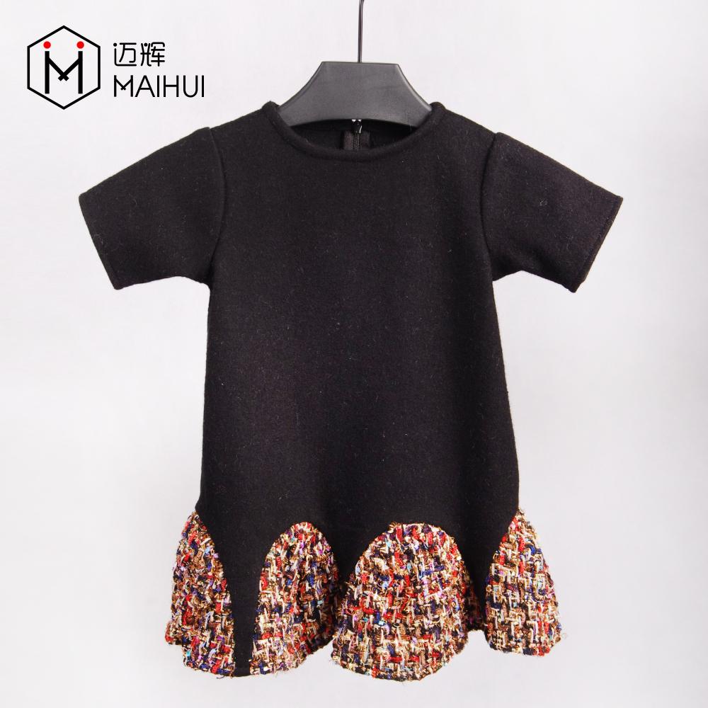 Fábrica de China de la venta directa de niños bebé niña fiesta de los niños vestidos de