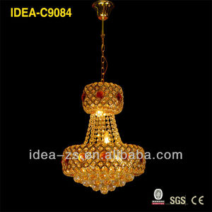 indian spiral crystal chandelier ,faux k5/k9 crystal ,chinese style
