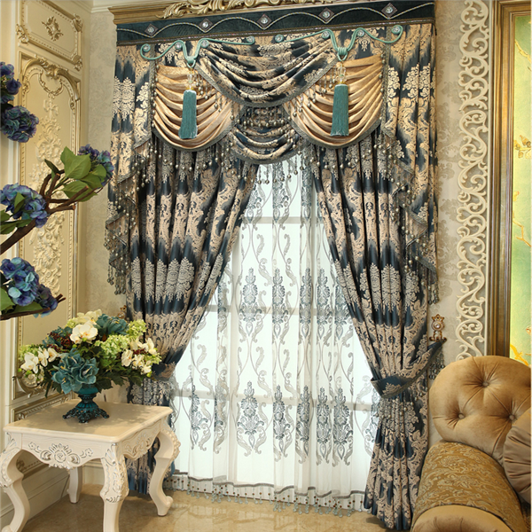 excellent processig method curtains with tulle