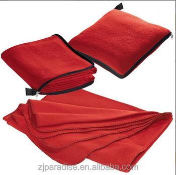 2 In 1 Fleece Travel Blanket And Pillow Set   Buy Pillow Blanket,2 In