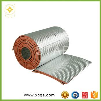 Foam board fiberglass air bubble insulation buy air for Fire resistant fiberglass insulation
