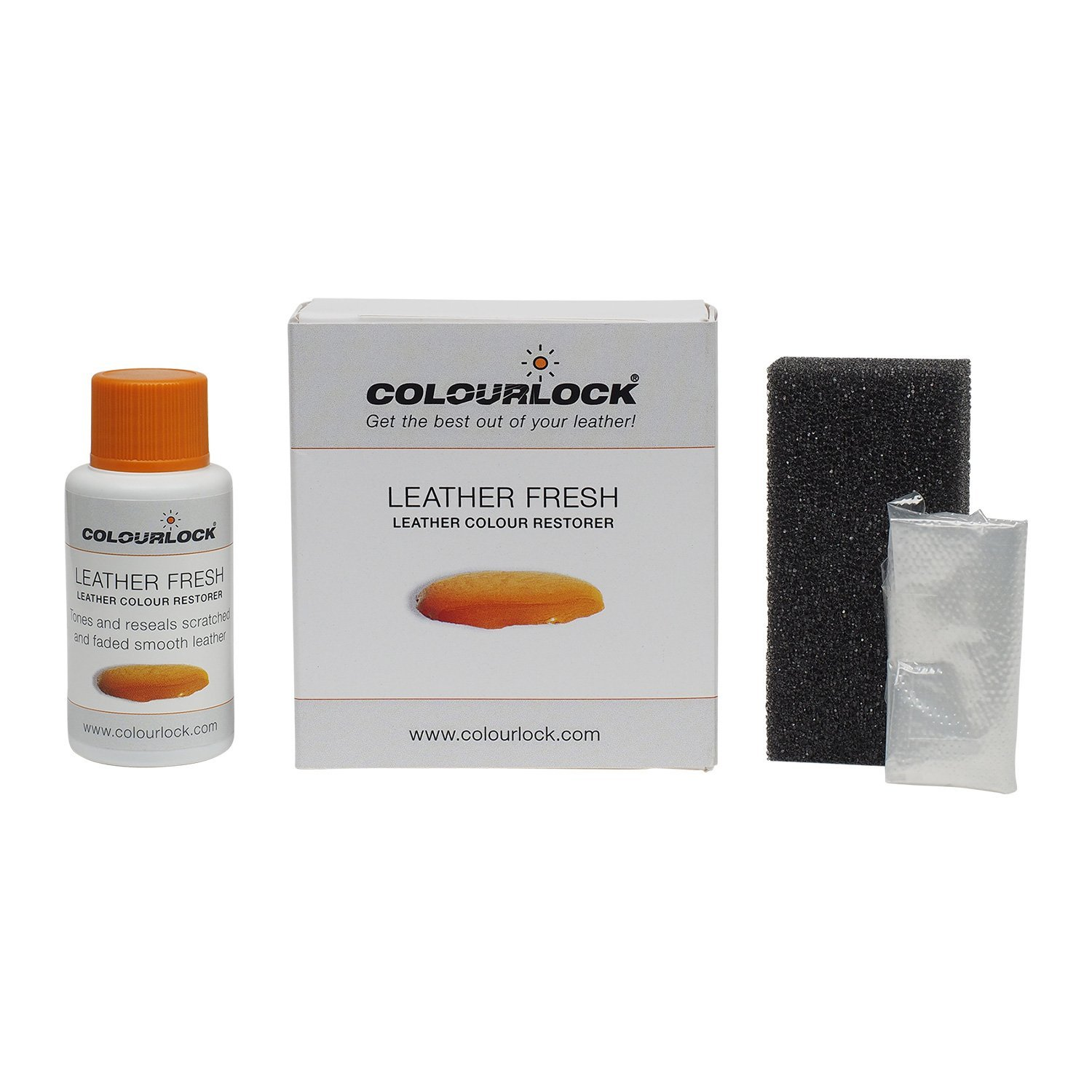 COLOURLOCK Leather Dye 30 ml DIY Repair Colour, dye, restorer for scuffs, small cracks on car seats, sofas, bags, settees and clothing (F015)