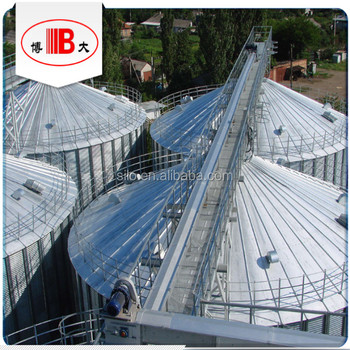 Roof Grain Scraper / Chain Conveyor On Steel Silo With Catwalk For  Supporting - Buy Scraper Conveyor,Chain Conveyor,Grain Chain Conveyor  Product on