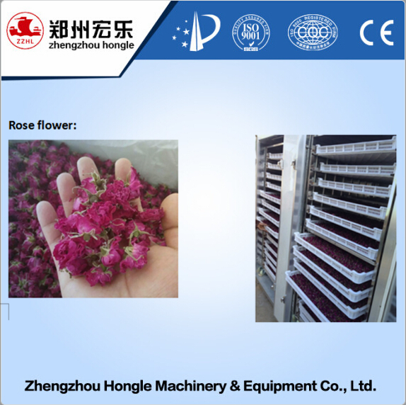 pharmaceutical chemical food rose flower drying machine