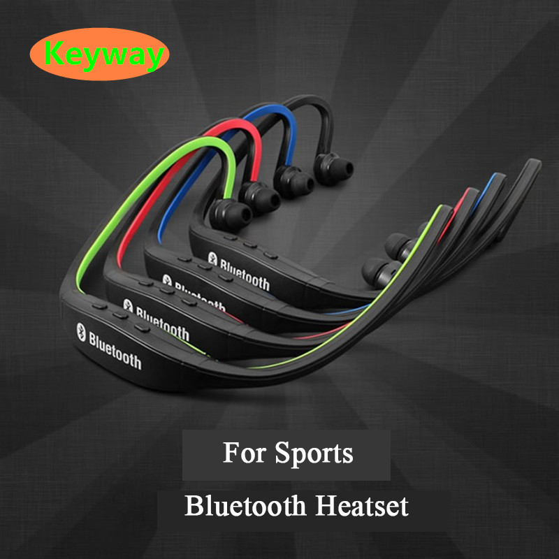 New design Sport Wireless Bluetooth Earphone S9 FM SD Card Slot Bluetooth with sports running Microphone Headphones