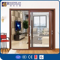ROGENILAN 180# as2047 certificated aluminium sliding door japanese style company prices