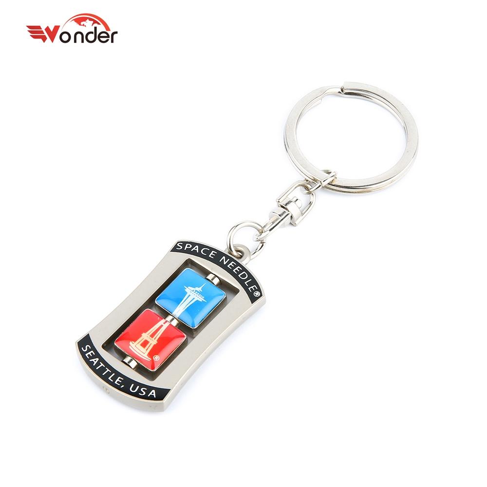 ยอดนิยม key chain แหวน, พวงกุญแจ, ผิดปกติ anti - lost โลหะที่กำหนดเอง key chain
