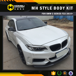 Auto bodystyling MH style car bumper body kit glass fiber reinforced plastic bodykits for cars for 2 series F22 M235i F23 230i