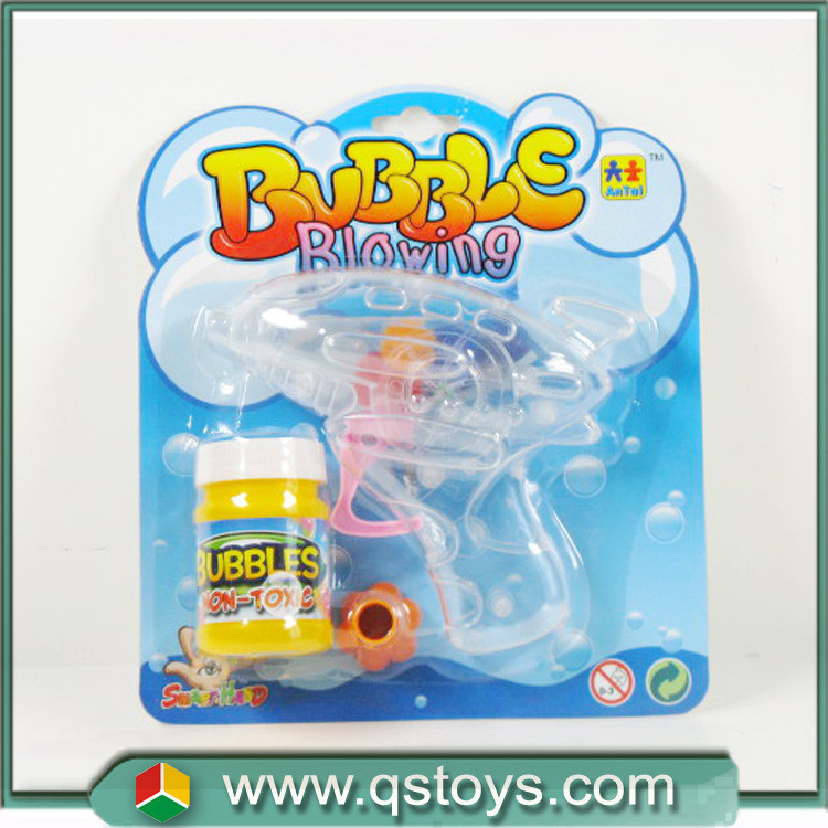 Funny gun soap bubble water toys bubble gun fish