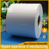 Self adhesive Label Sticker Thermal Transfer Label Roll 4