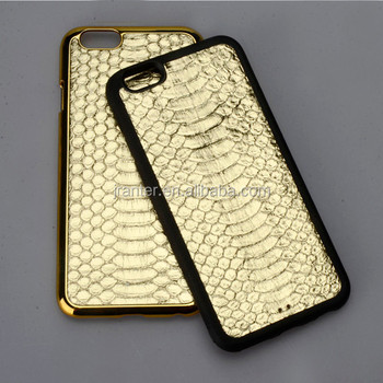 2016 New Arrival Wholesale Real Snakeskin Hard Case Cover For iPhone 6 and 6S